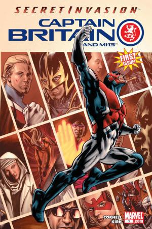 Captain Britain and MI: 13 (2008) #1