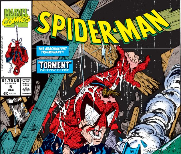 Spider-Man (1990) #5 Cover