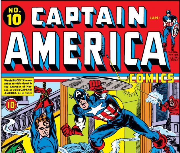 Captain America Comics (1941) #10 Cover