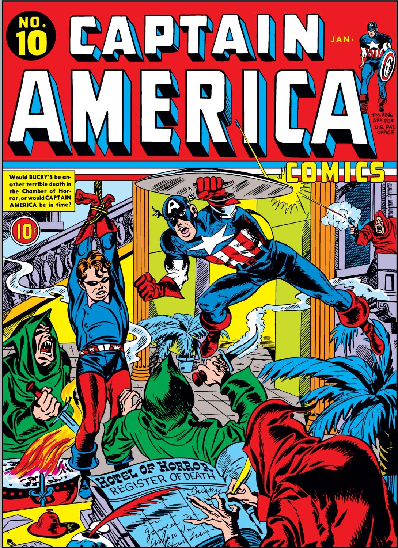 Captain America Comics (1941) #10