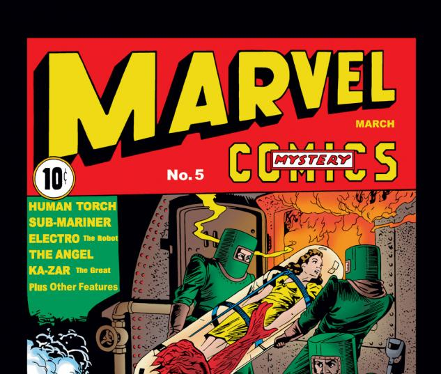 Marvel Comics (1939) #5 Cover
