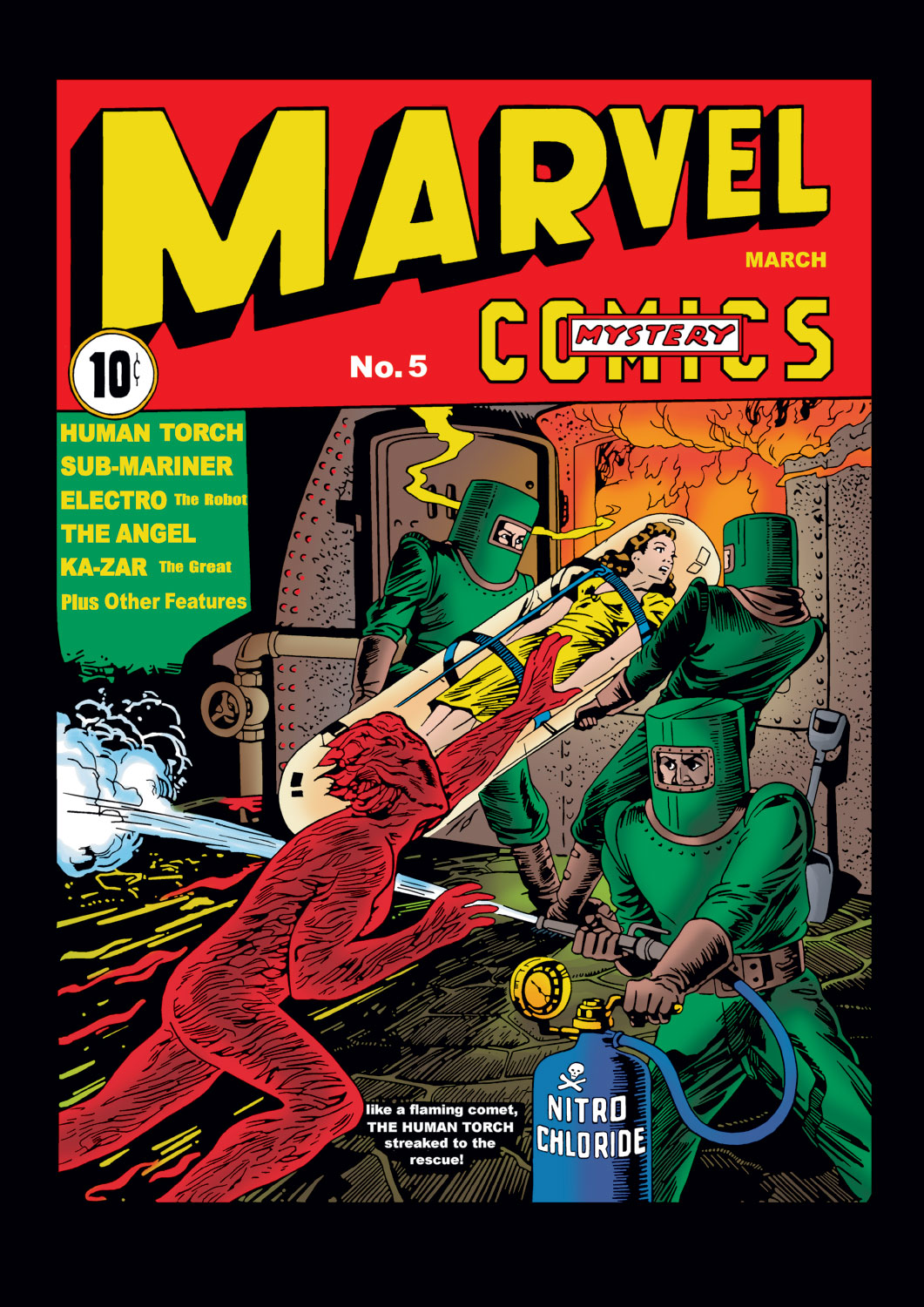 Marvel Comics (1939) #5