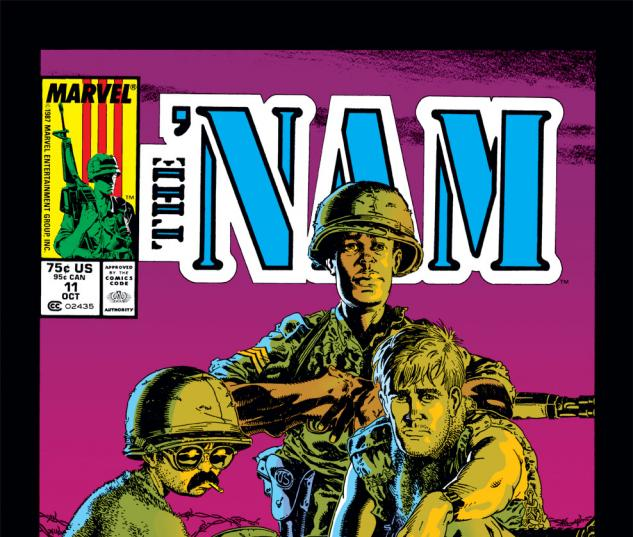 The 'Nam (1986) #11 Cover