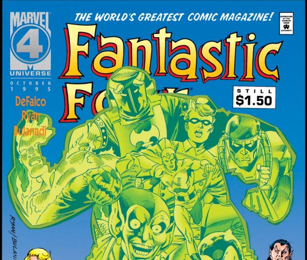 Fantastic Four (1961) #405 Cover