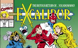 Excalibur (1988) #42 Cover