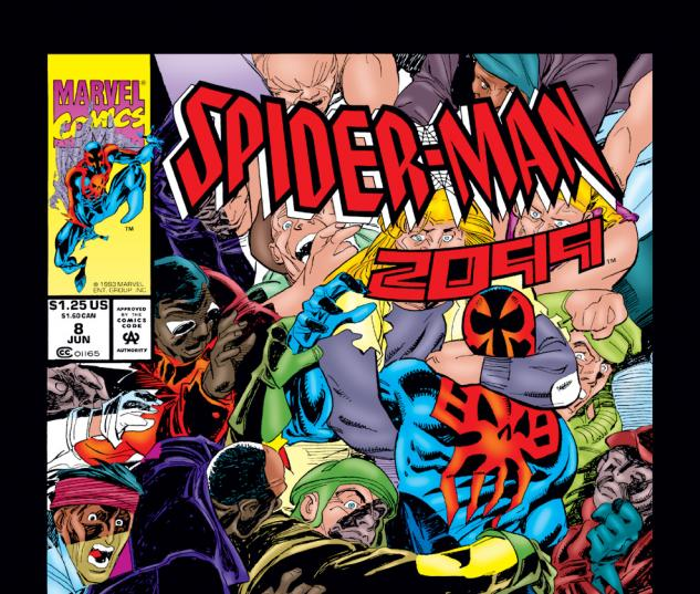 Spider-Man 2099 (1992) #8 Cover