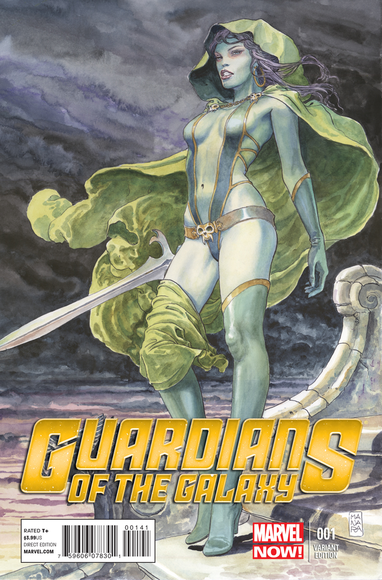 Guardians of the Galaxy (2013) #1 (Manara Variant)