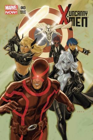 Uncanny X-Men (2013) #3 (Noto Variant)