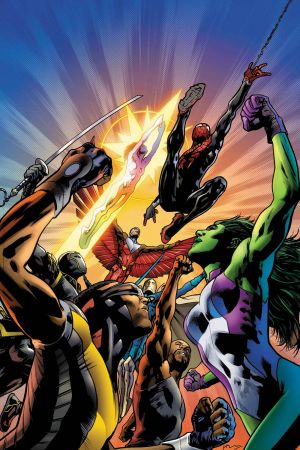 Mighty Avengers (2013) #1 (Hitch Variant)