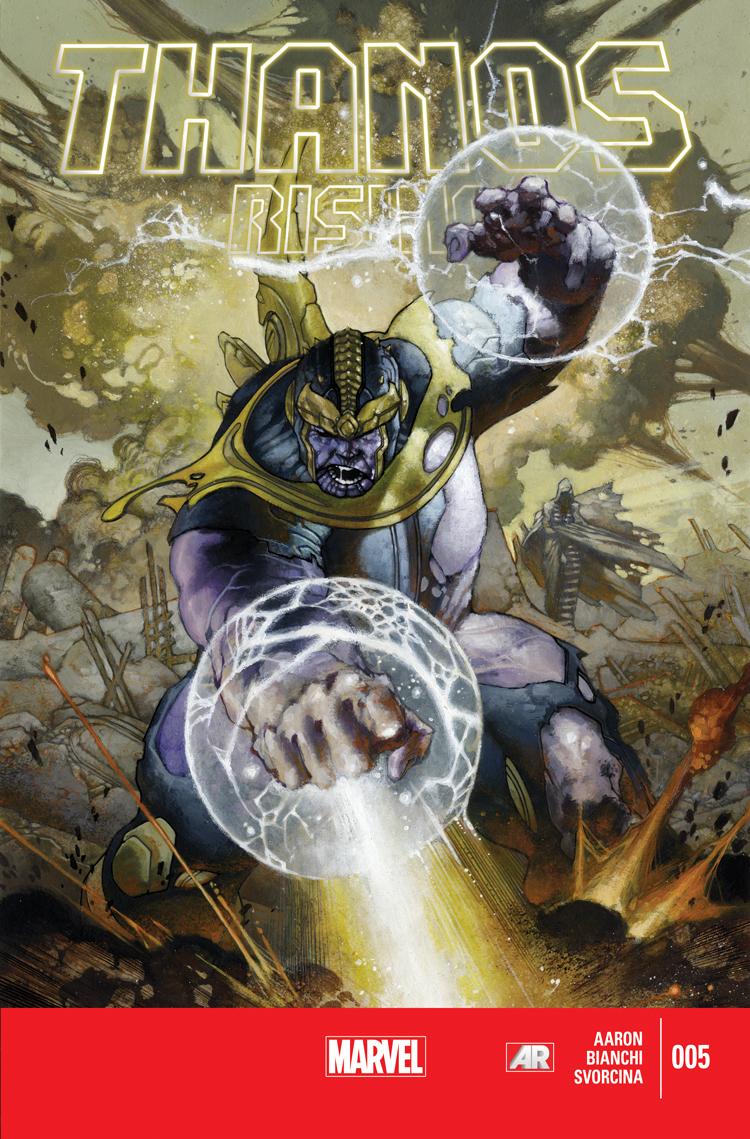 Thanos Rising (2013) #5