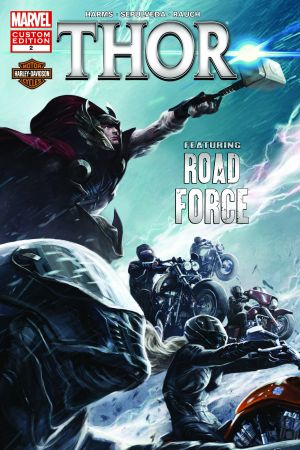 Harley-Davidson Presents Thor In: The Origin Of Road Force #2