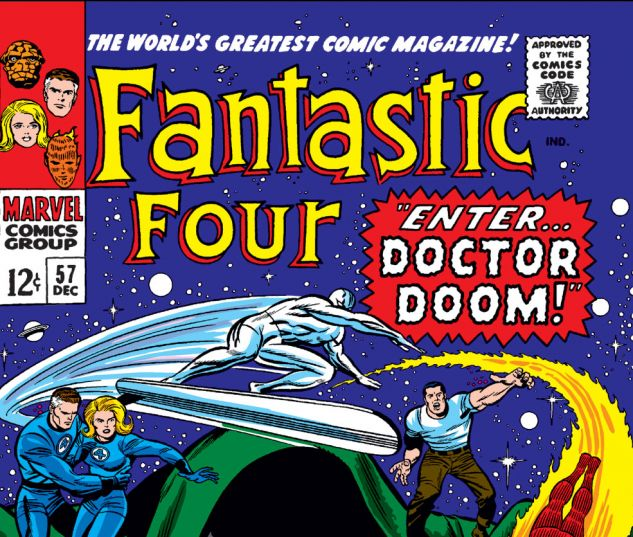 Fantastic Four (1961) #57 Cover