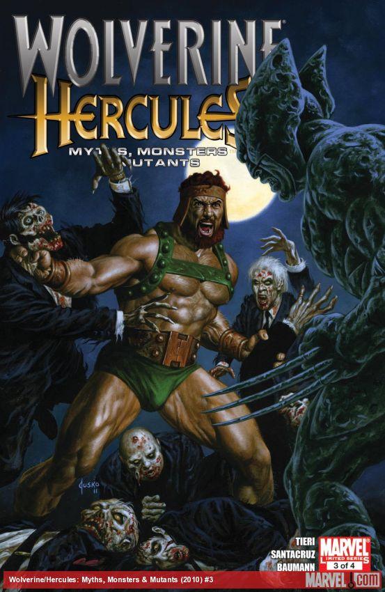 Wolverine/Hercules: Myths, Monsters & Mutants (2010) #3