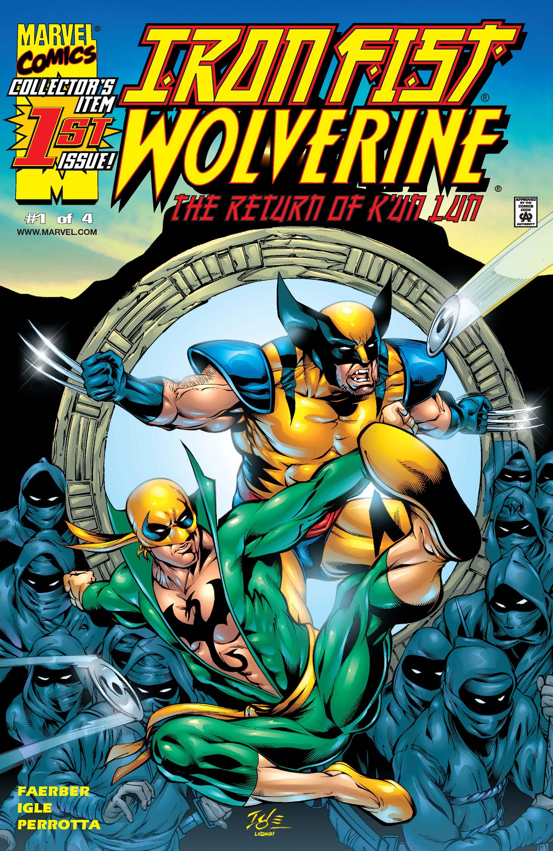 Iron Fist/Wolverine (2000) #1