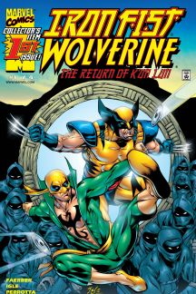 Iron Fist/Wolverine (2000) #1