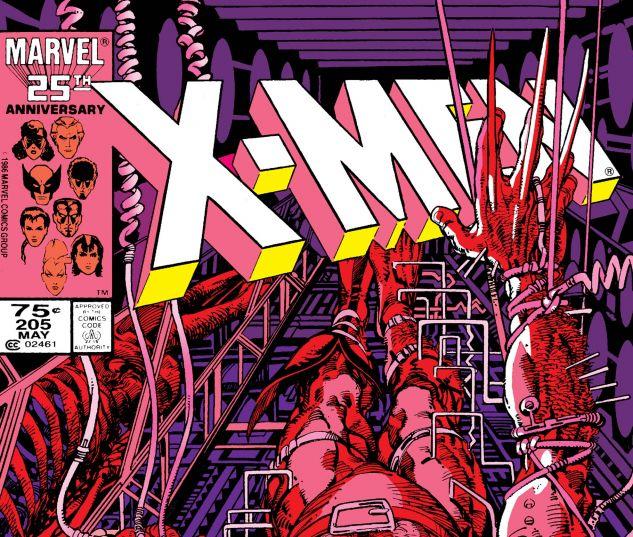 UNCANNY X-MEN (1963) #205
