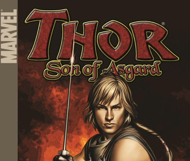 THOR: SON OF ASGARD VOL. 1: THE WARRIORS TEEN 0 cover