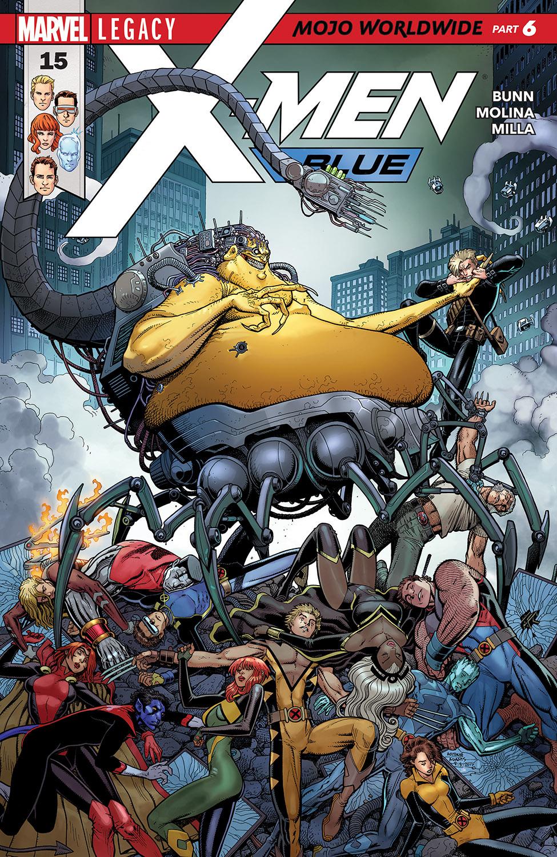 X-Men: Blue (2017) #15