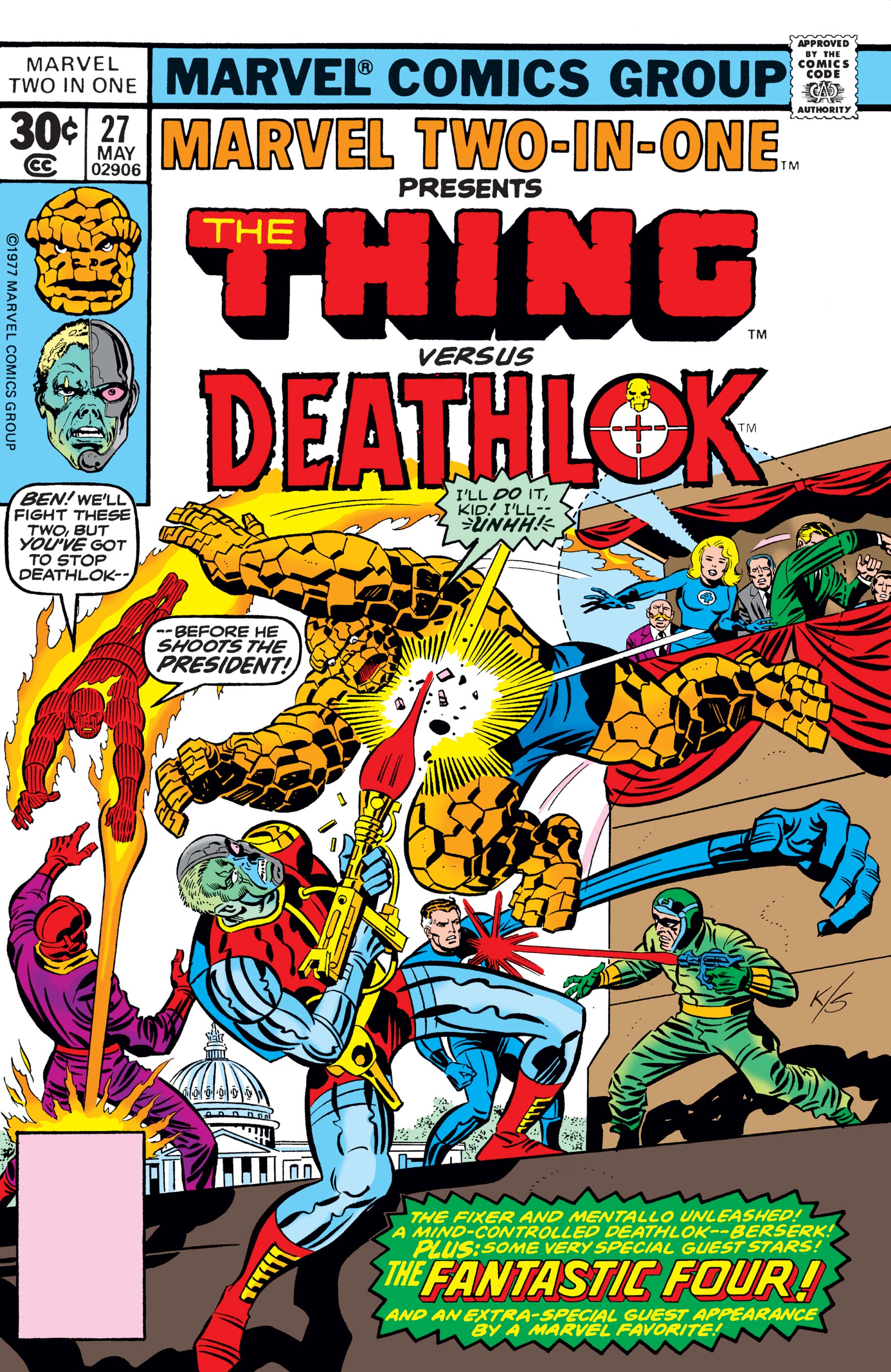 Marvel Two-in-One (1974) #27