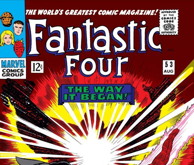 FANTASTIC FOUR (1961) #53