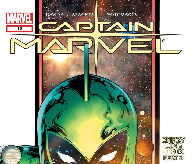 Captain Marvel (2002) #16