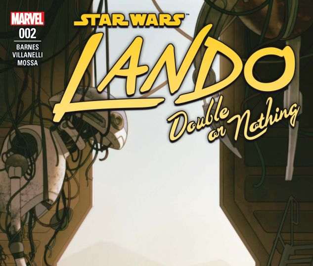 cover from Star Wars: Lando - Double or Nothing (2018) #2