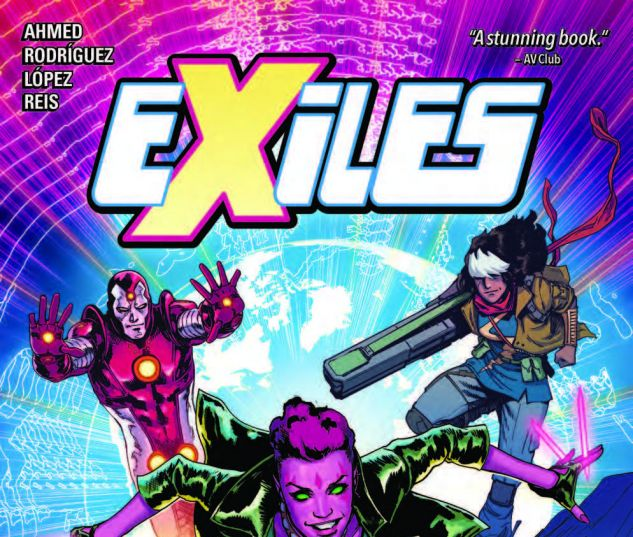 EXILES VOL. 1 TPB (2018) #1