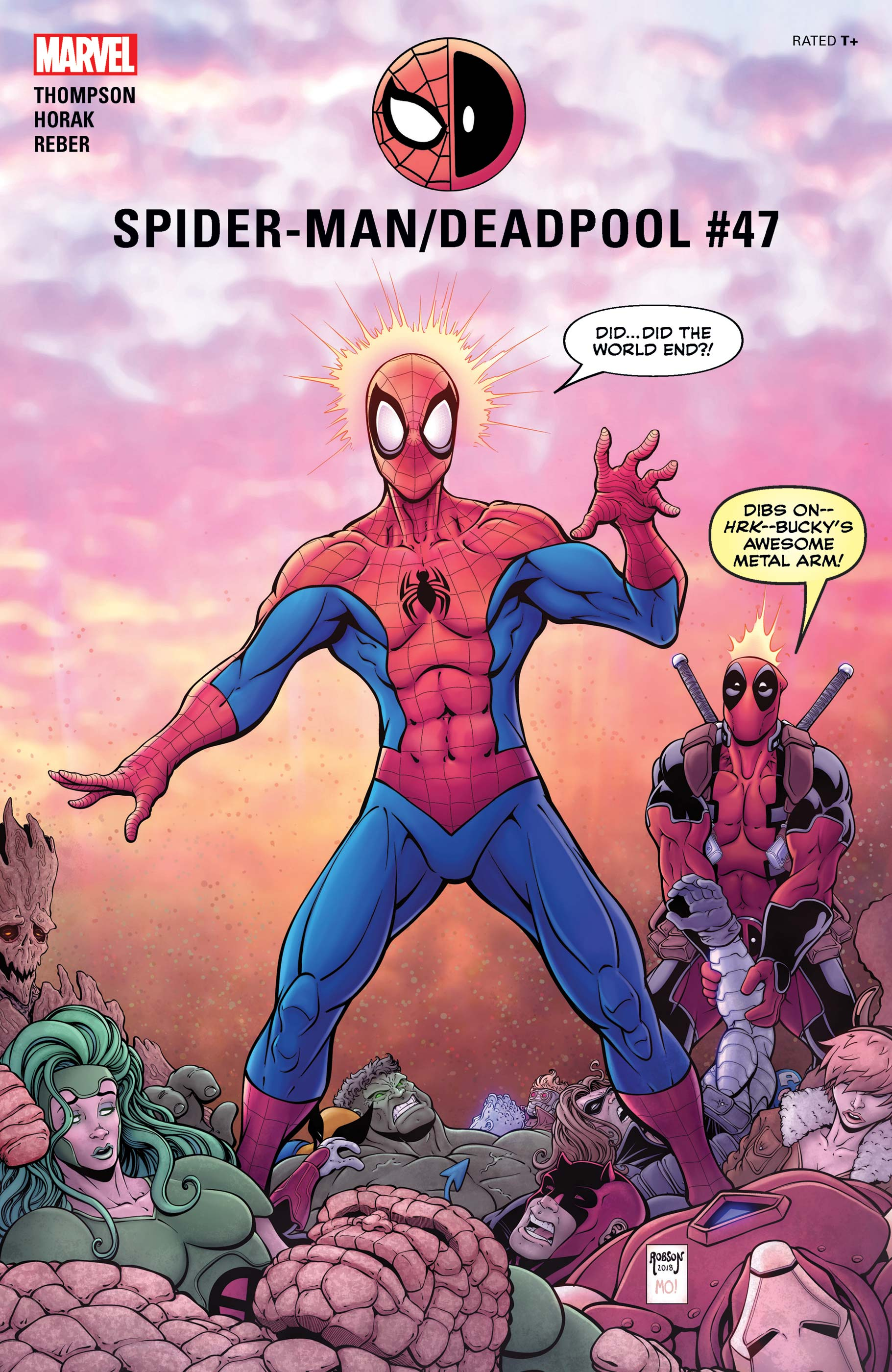 Spider-Man/Deadpool (2016) #47