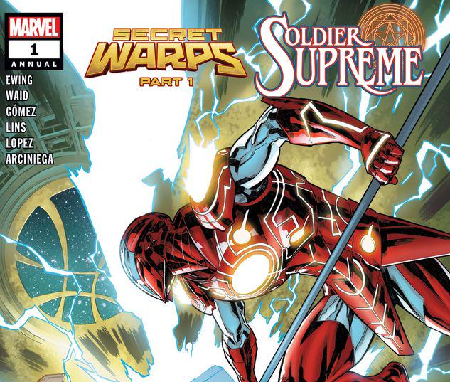 SECRET WARPS: SOLDIER SUPREME ANNUAL 1 #1