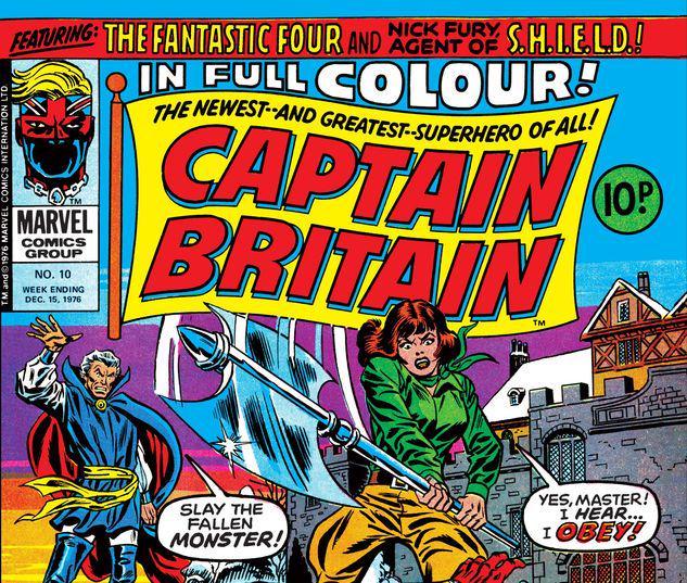 Captain Britain #10