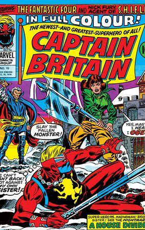Captain Britain (1976) #10