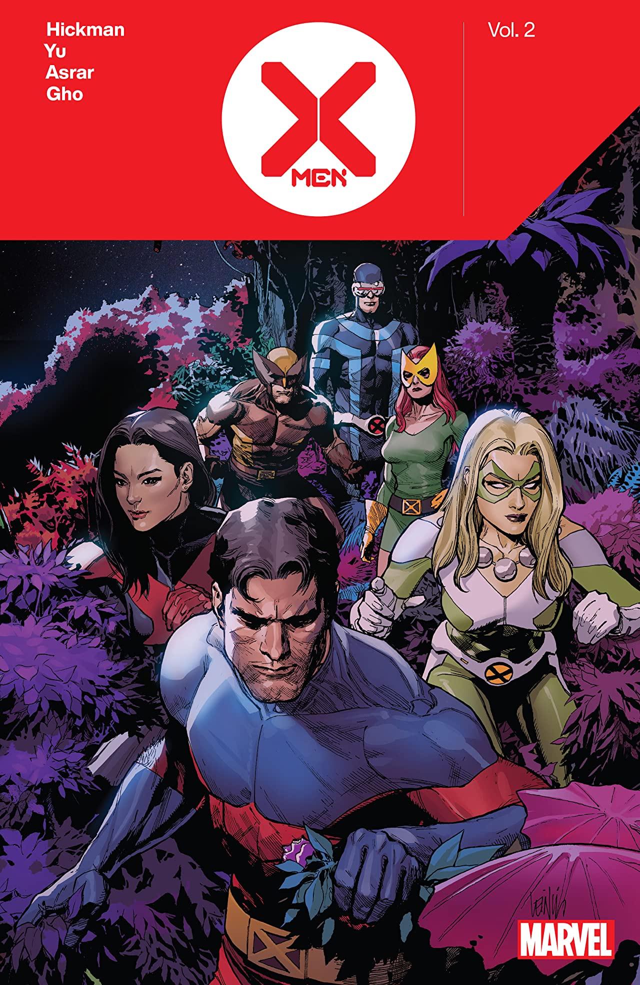 X-MEN BY JONATHAN HICKMAN VOL. 2 TPB (Trade Paperback)