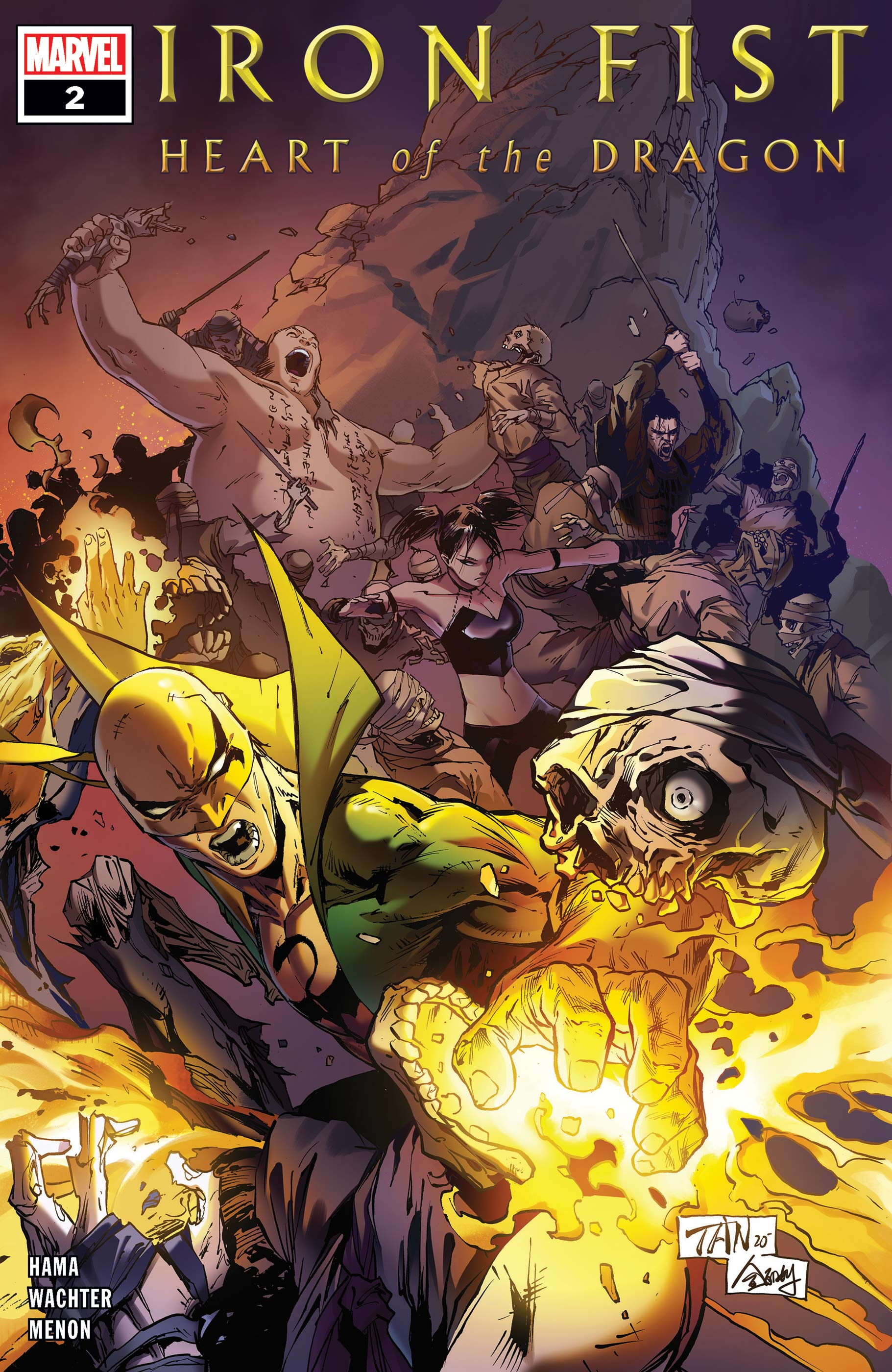 Iron Fist: Heart of the Dragon (2021) #2