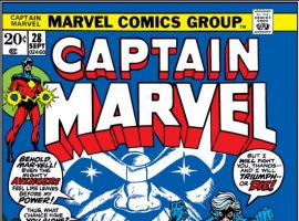 CAPTAIN MARVEL #28 COVER