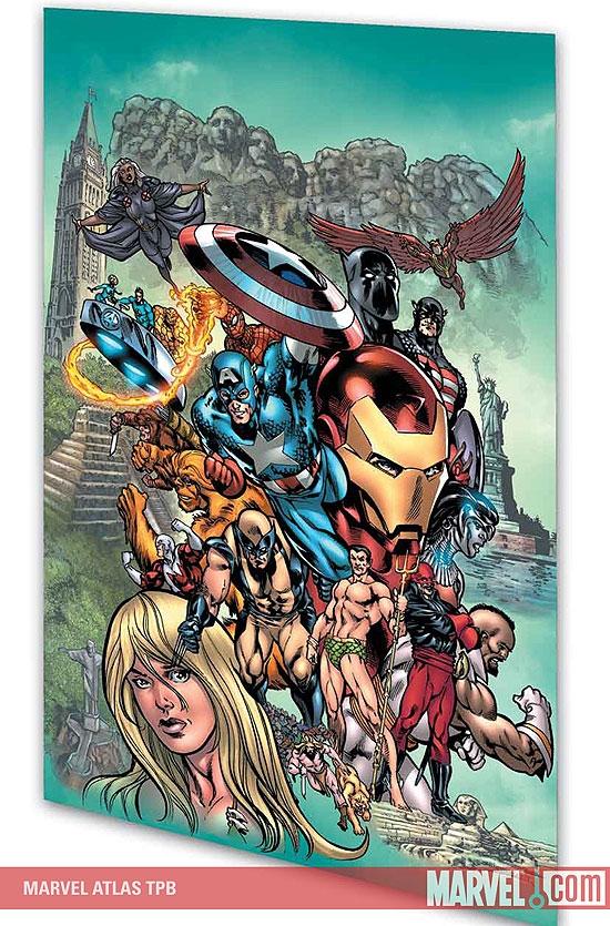 Marvel Atlas (Trade Paperback)
