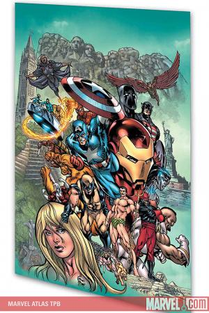 Marvel Atlas (Trade Paperback)