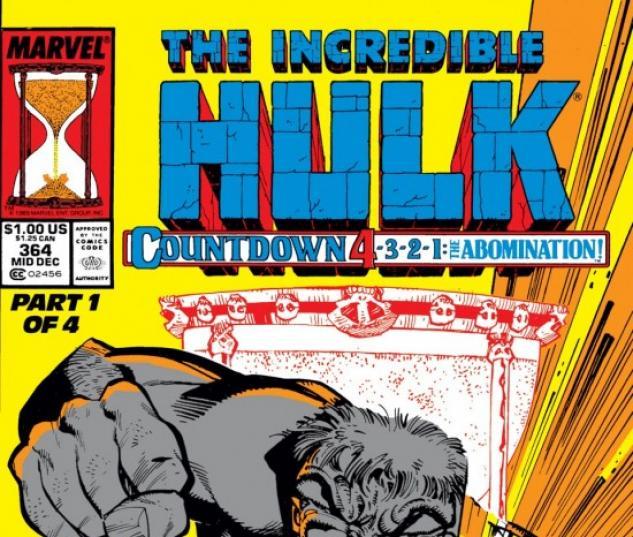 INCREDIBLE HULK (2009) #364 COVER