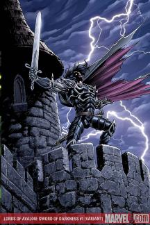 Lords of Avalon: Sword of Darkness (2008) #1 (Variant)