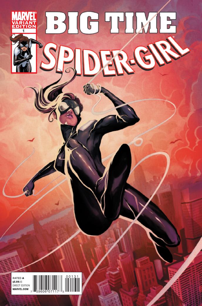 Spider-Girl (2010) #1 (DEL MUNDO VARIANT)