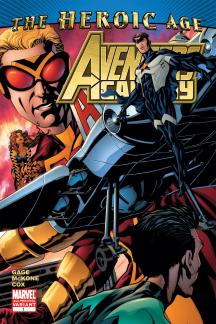 Avengers Academy (2010) #1 (2ND PRINTING VARIANT)
