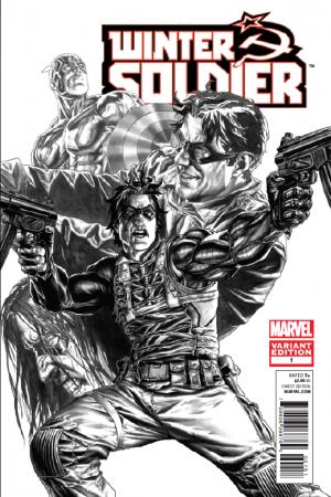Winter Soldier #1  (Bermejo Sketch Variant)