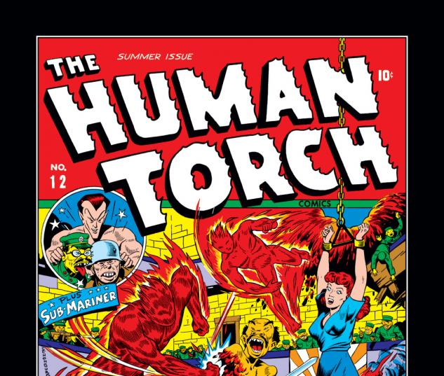 Human Torch (1940) #12 Cover