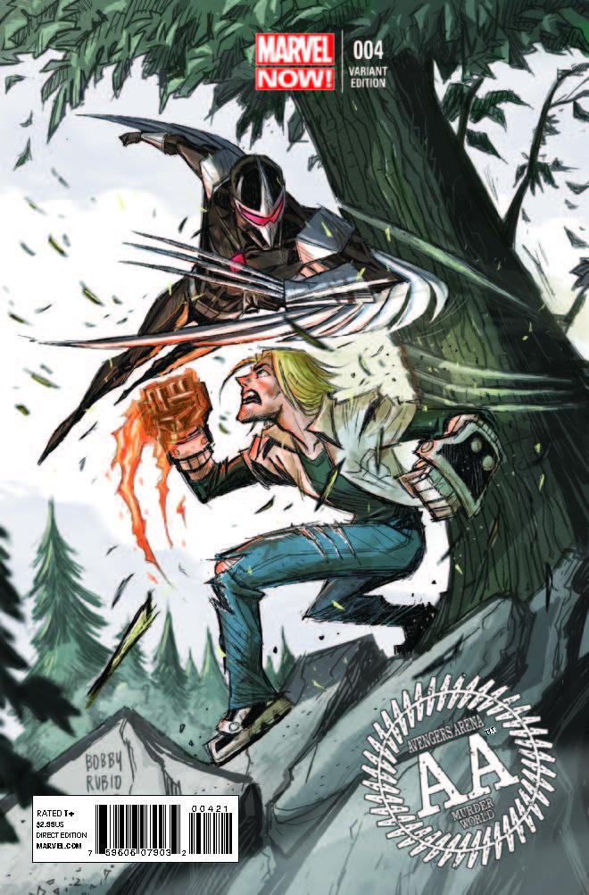 Avengers Arena (2012) #4 (Rubio Variant)