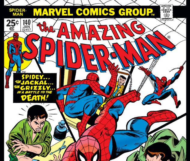 Amazing Spider-Man (1963) #140 Cover