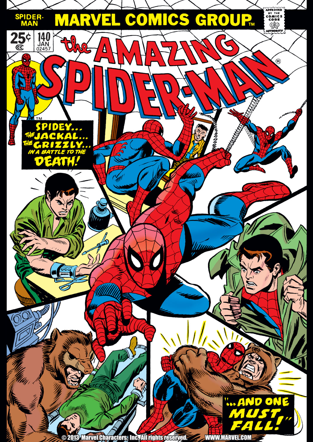 The Amazing Spider-Man (1963) #140