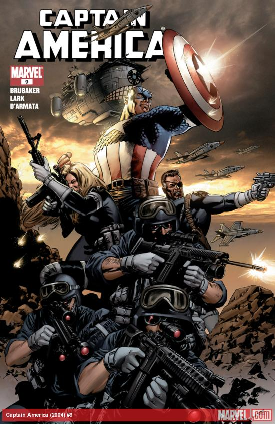 Captain America (2004) #9