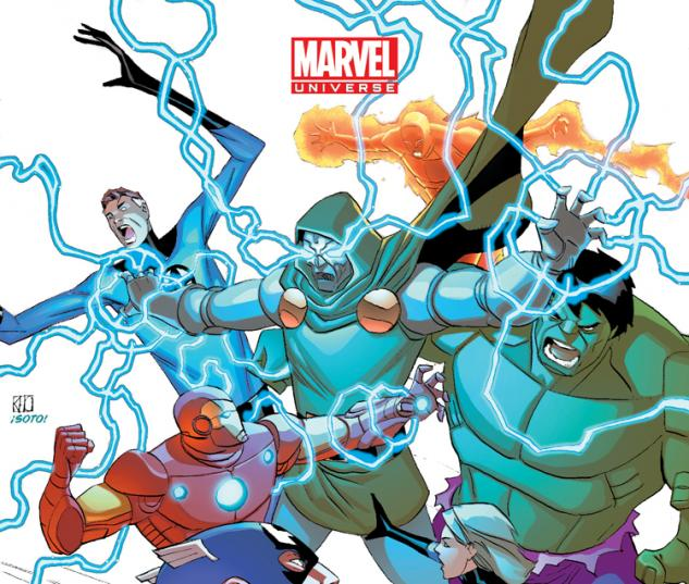 MARVEL UNIVERSE AVENGERS EARTH'S MIGHTIEST HEROES 13