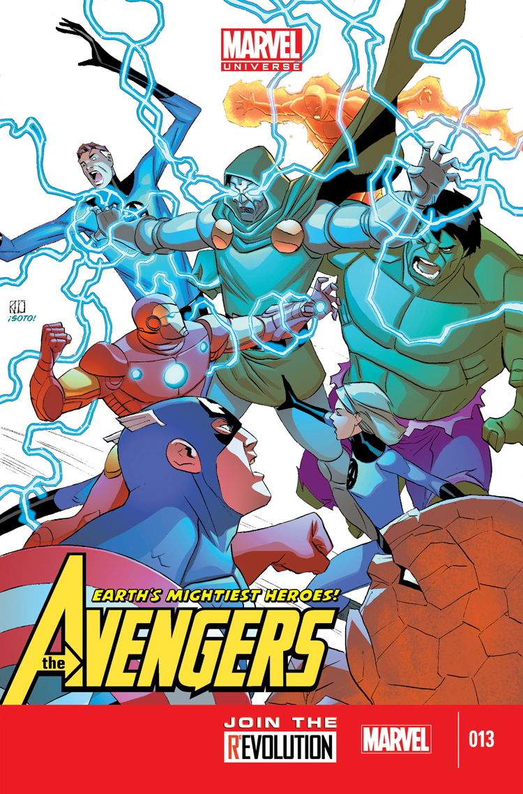 Marvel Universe Avengers: Earth's Mightiest Heroes (2012) #13
