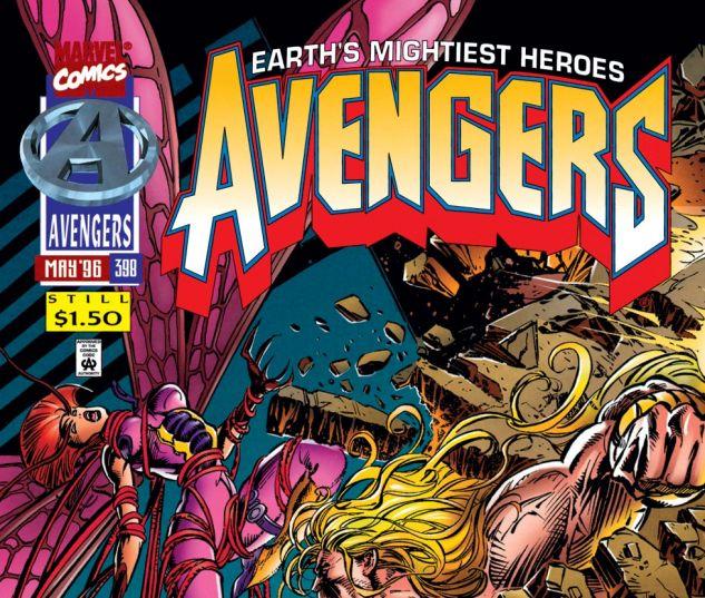Avengers (1963) #398 Cover