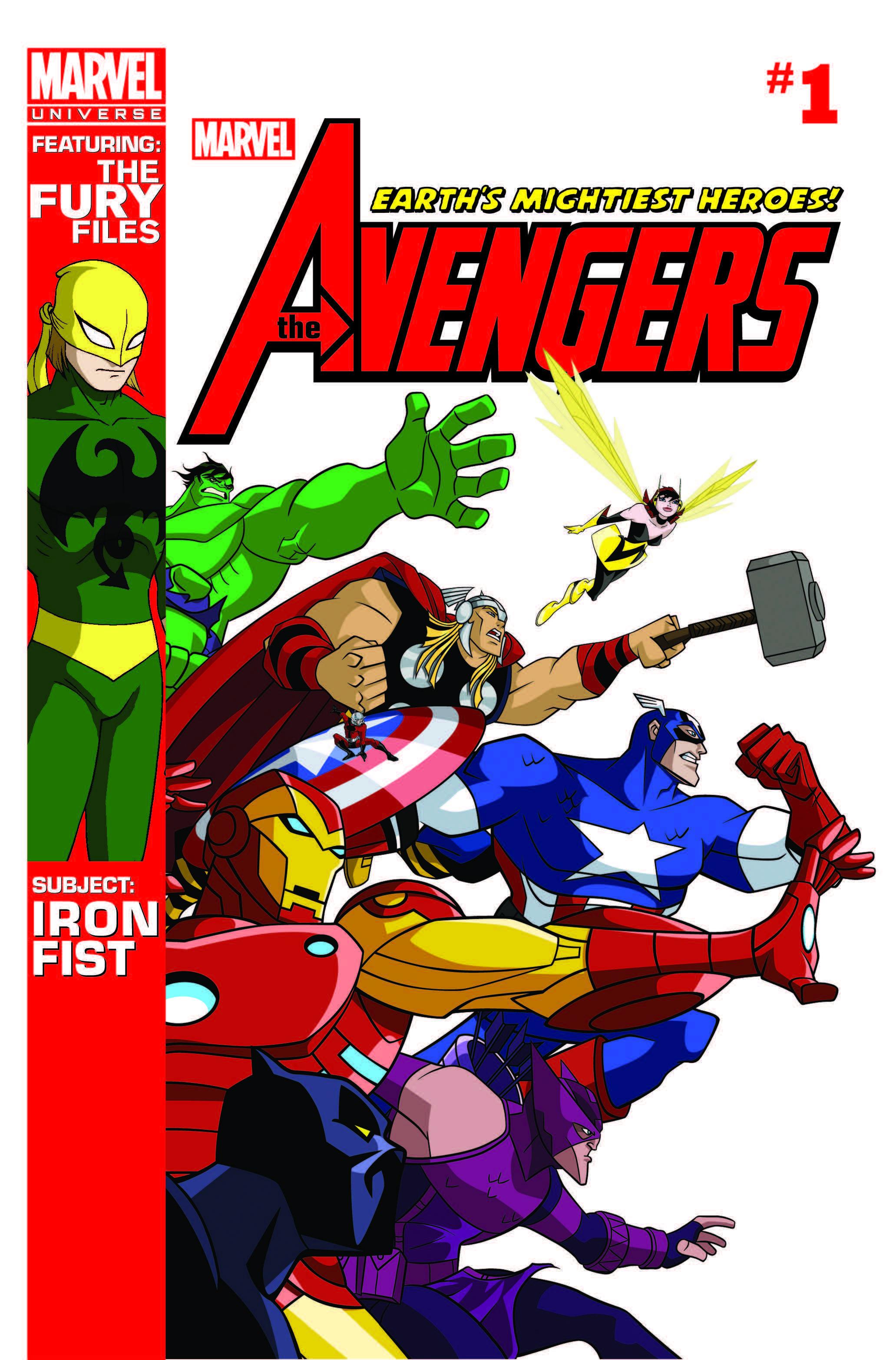 Marvel Universe Avengers: Earth's Mightiest Heroes (2012) #1